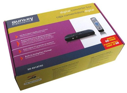 Sunkey SK-801ATSC Digital Converter Photo