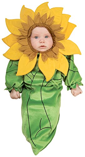 Rubie's Costume Co Baby Girl's Sunflower Bunting Infant Costume, Multi, 0-9 Months