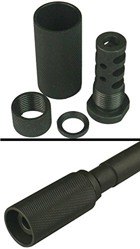 Best Price! Ultimate Arms Gear Model 4/15 .223 5.56 1/2x28 Aluminum Filter Thread Adapter Muzzle Bra...