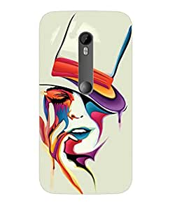 High Qaulity 3D Designer Back Cover for Moto G 3