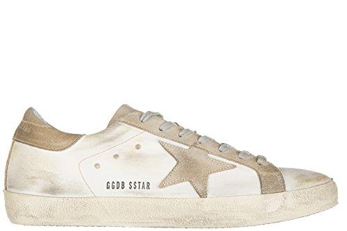 Golden Goose scarpe sneakers uomo nuove originale superstar bianco EU 44 G29MS590 F11