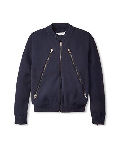 Maison Martin Margiela Men's Zipper Front Sweater Jacket