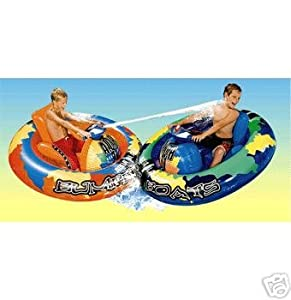 Banzai Motorized Bumper Boat Toys Games