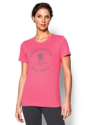 Under Armour Women's WWP Property Of Short Sleeve, Harmony Red (962), Small