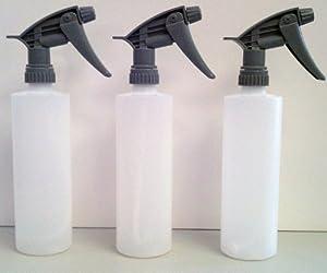 3-320CR - SUPER HEAVY DUTY CHEMICAL RESISTANT SPRAYER +16 oz Bottle (3 Sprayer & 3 Bottles)