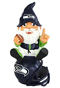 Seattle Seahawks Official NFL Garden Gnome by Forever Collectibles 957653 by Forever Collectibles