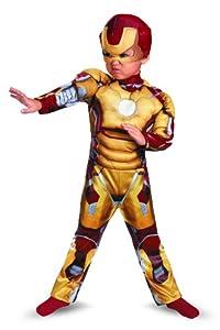 Disguise Marvel Iron Man Movie 3: Iron Man Mark 42 Muscle Costume, 2T