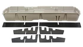 Du-Ha 10043 Chevrolet/GMC Underseat Storage Console Organizer - Light Gray