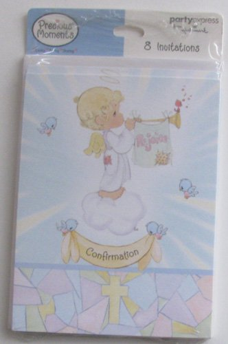 Precious Moments Confirmation Invitations, 8ct