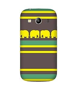 Stripes And Elephant Print (36) Samsung Galaxy Ace 4 Case