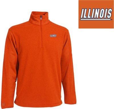 NCAA Men's Illinois Fighting Illini Frost Polar Fleece (Mango, XX-Large) Antigua Jackets autotags B003V5JUVG