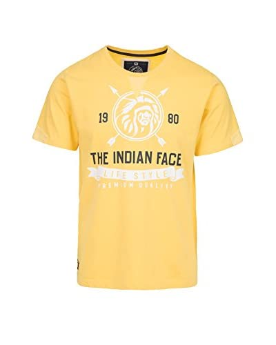 THE INDIAN FACE Camiseta Manga Corta Amarillo