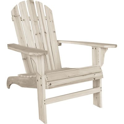 Cedar Adirondack Chair - 35 3/4in.L x 30 1/2in.W x 35 1/2in.H, Model# CS-001KD