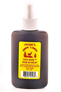 Jackies Deer Lures Hot Doe Sprayer, 4-Ounce by Jackies Deer Lures