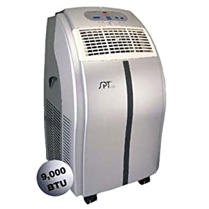 SPT WA-9020E 9,000-BTU Portable Air Conditioner with Remote Control