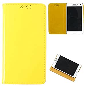 For Nokia Lumia 525 - DooDa Quality PU Leather Flip Case Cover With Smooth inner Velvet To Keep Screen Scratch-Free