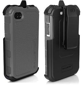 Ballistic HC Series Case for Apple Iphone 4/4s - Gray/White