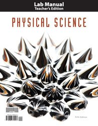 Physical Science Lab Man Te (Bju Press 5th compare prices)