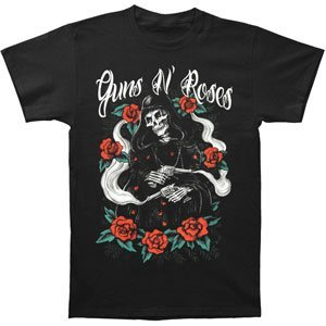 Adults Guns N Roses - Roses Reaper T-Shirt - Sizes S to XXL