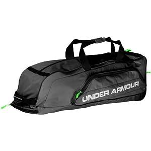 Under Armour Line Drive Baseball Softball Roller Bag by Under Armour