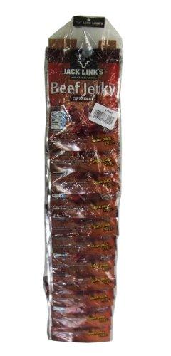 Jack Links Beef Jerky Original Snack Pack auf Wandstreifen, 12er Pack (12 x 25g)