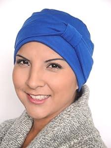 73c3fd7004439 Turban Plus Day   Night Cap with Headband 2 piece set in Black Clothing