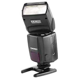 Yongnuo speedlite flash ttl YN468II YN-468II pour nikon appareil photo reflex numérique d60 d40x d40 d5000 d3100 d3000