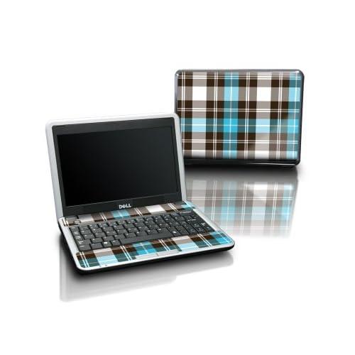 Dell Inspiron mini 9 Laptop Tattoo Skin   Türkis Plaid