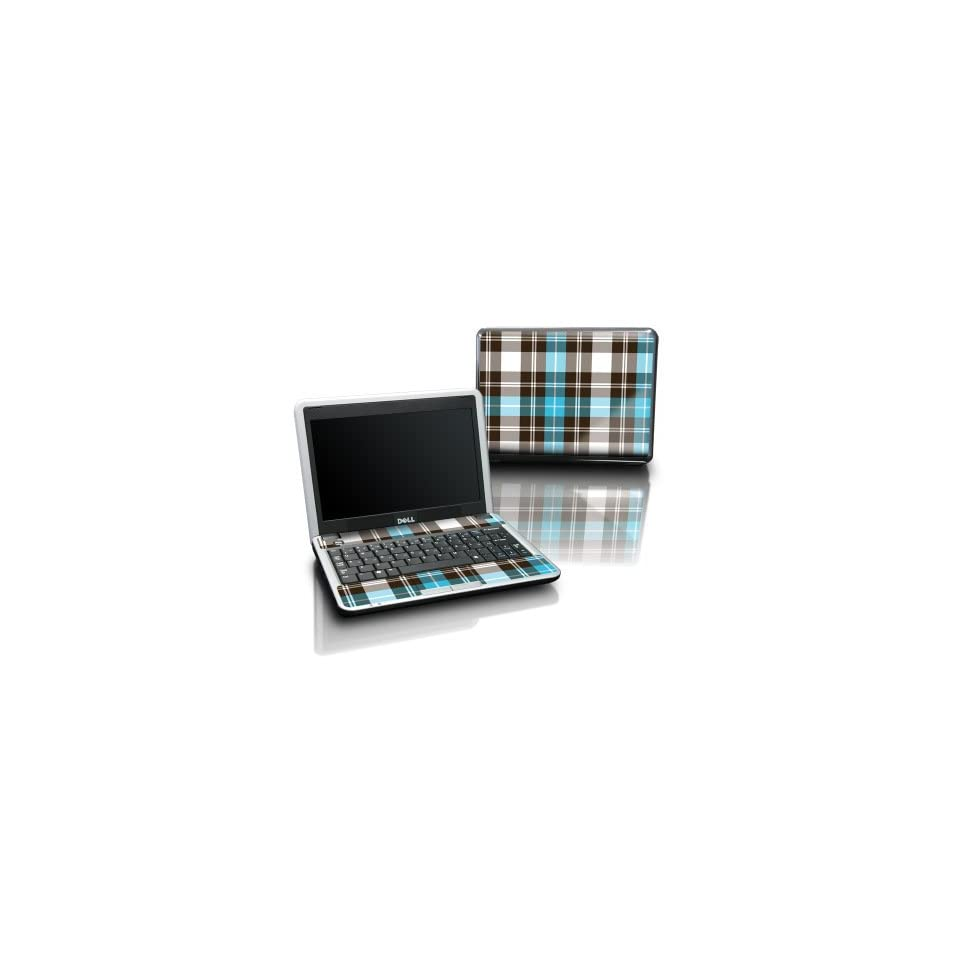 Dell Inspiron mini 9 Laptop Tattoo Skin   Türkis Plaid
