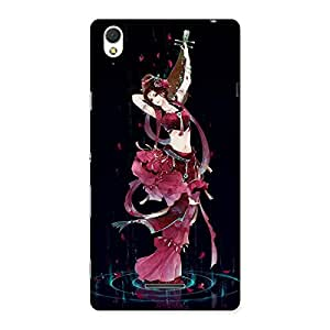 Princess Pose Back Case Cover for Sony Xperia T3