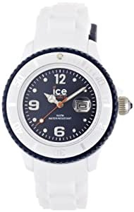 Ice-Watch Unisex-Armbanduhr ice-White Unisex weiß/blau Analog Quarz SI.WB.U.S.11