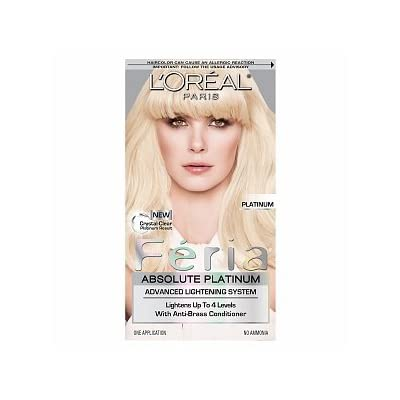 "FERIA by L'Oreal Paris Absolute Platinum ""PLATINUM"" Advanced"