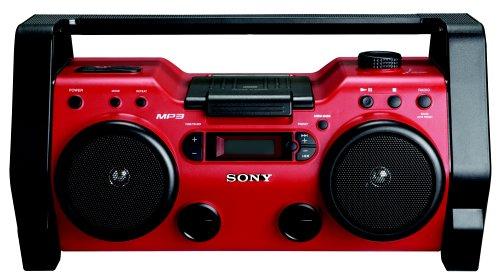 sony zsh10cp portable heavy duty cd radio boombox speaker. Black Bedroom Furniture Sets. Home Design Ideas