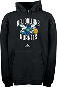 New Orleans Hornets Full Primary Logo Hooded Fleece Sweatshirt by adidas