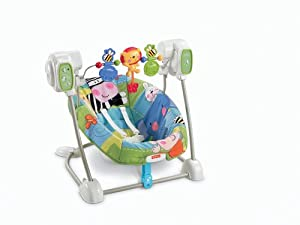 Fisher-Price Space Saver Swing and Seat, Discover'N Grow