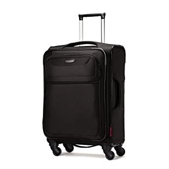 Samsonite Lift Spinner 21  Inch Expandable Wheeled Luggage, Black, One Size