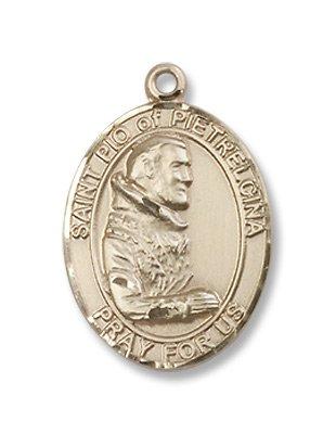 Gold Filled St. Pio of Pietrelcina Pendant