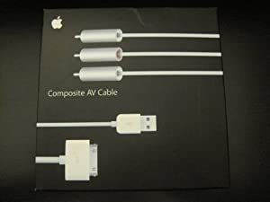Apple Component AV Cable (OLD VERSION)[Retail Packaging]