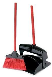 Libman Lobby Broom & Dust Pan (Closed Lid)