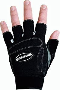 Bionic Men's Fitness Gloves, Black, Medium