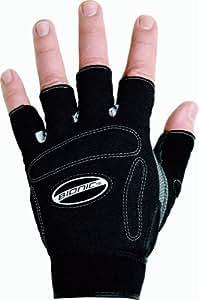Bionic Men's Fitness Gloves, Black, Medium