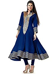 Fashion Galleria blue fency cotton kurti