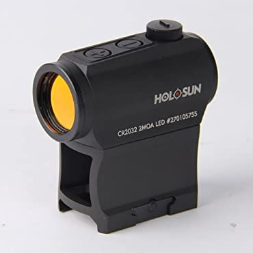 HoloSun HS403A Micro Red Dot 2 MOA Sight with AR Riser