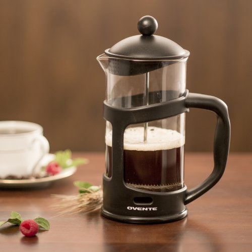 Ovente FPT27B French Press Drip Coffee Maker, 27-Ounce, Black