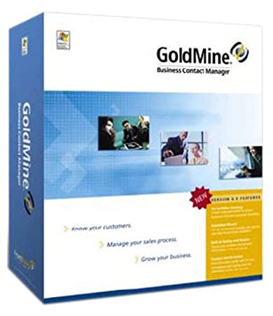 GOLDMINE 6.0 Business Contact Manager