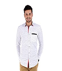 BENDIESEL MEN'S PRINTED CASUAL SHIRT