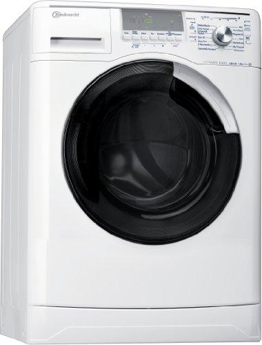 Bauknecht WA Eco Star 8 ES Waschmaschine Frontlader / A+++ A / 1400 UpM / 8 kg / Weiß /  DirektEinsprühSystem DES+  / Ultimate Care / Big window / Vollwasserschutz  / /