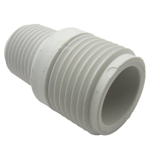 Lasco pvc hose adapter with inch male