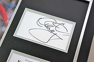 Kenny Dalglish Signed Photo Framed 16x12 Liverpool Memorabilia Autograph Display by Up North Memorabilia