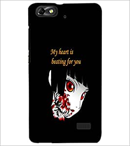 PrintDhaba Quote D-4196 Back Case Cover for HUAWEI HONOR 4C (Multi-Coloured)